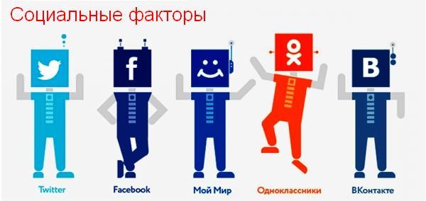 Социальные факторы