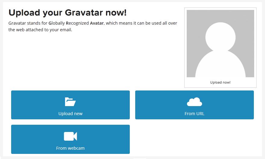 Регистрция Граватар шаг 5